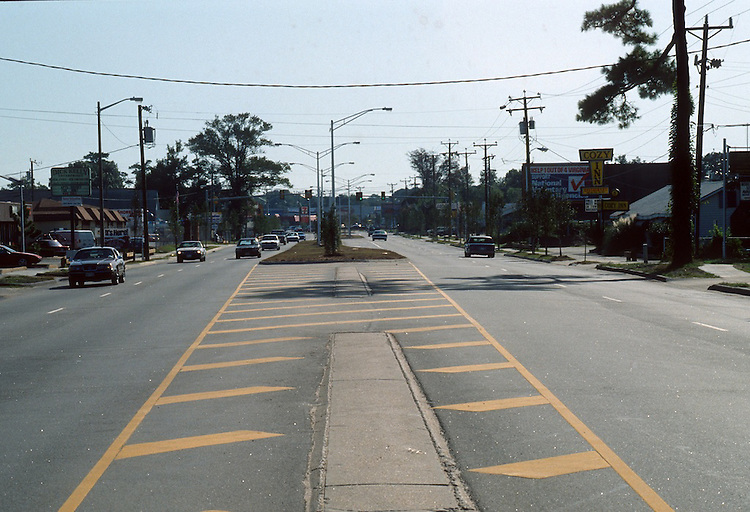 1991 October ..Conservation.East Ocean View...STREET IMPROVEMENTS.SHORE DRIVE LOOKING SOUTH FROM PORPOSE LANE...NEG#.NRHA#..