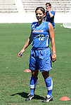 "23 August 2003: Freedom forward Sarah Kate ""Skate"" Noftsinger. The Washington Freedom practiced at Torero Stadium in San Diego, CA the day before playing the WUSA's Founders Cup III championship game."
