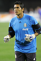 Mexican National Team GK Oswaldo Sanchez during the USA vs Mexico International Friendly match. USA beat Mexico 2-0 in Glendale, AZ, Wednesday, Feb. 7, 2007.