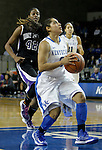 Sophomore guard Jennifer O'Neil goes for a layup at the Women's Basketball game at Memorial Coliseum in Lexington, Ky., on Saturday, November. 17, 2012..