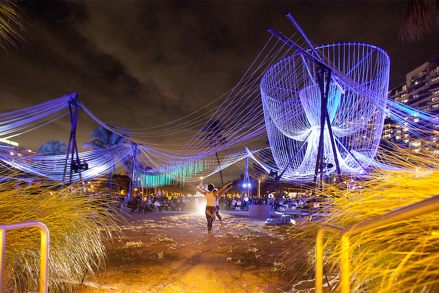 Exhale Pavilion Art Basel Miami Beach Architects: Phu Hoang and Rachely Rotem