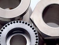 STAINLESS STEEL IS CORROSION RESISTANT<br /> Machined Parts Made of Ferrous Alloy Of Iron.<br /> Containing at least 10.5% chromium, stainless steel is resistant to corrosion. The chromium in the stainless steel has a great affinity for oxygen, and will form a film of chromium oxide on the surface of the steel at a molecular level.