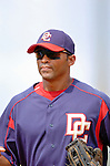 10 March 2006: George Lombard, outfielder for the Washington Nationals, during a Spring Training game against the Houston Astros. The Astros defeated the Nationals 8-6 at Osceola County Stadium, in Kissimmee, Florida...Mandatory Photo Credit: Ed Wolfstein..