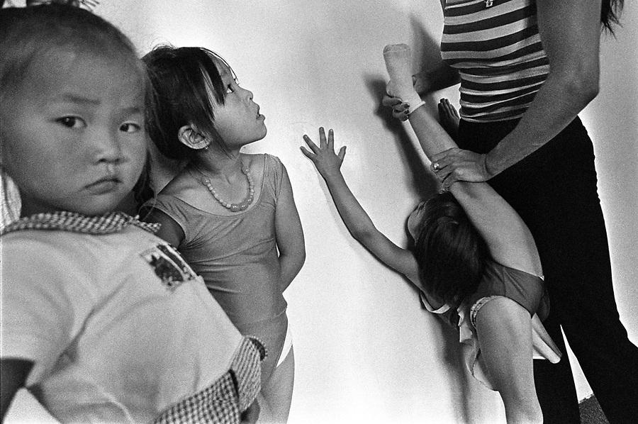Mongolian contortion training