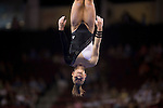 2008 U.S. Olympic gymnastic hopeful Shawn Johnson at the 2008 Visa Championships. Boston, MA, USA. June 7, 2008.