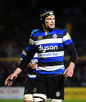 Paul Grant of Bath Rugby looks on during a break in play. Aviva Premiership match, between Bath Rugby and Bristol Rugby on November 18, 2016 at the Recreation Ground in Bath, England. Photo by: Patrick Khachfe / Onside Images