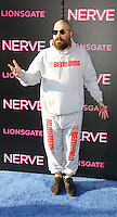 NEW YORK, NY-July 12:  Josh Ostrovsky The Fat Jew at Lionsgate presents the World Premiere of NERVE   at SVA Theater in New York. NY July 12, 2016. Credit:RW/MediaPunch