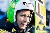 TEPES Anja of Slovenia during 11th Women FIS Ski Jumping World Cup competition in Planica replacing Ljubno  on January 25, 2014 at HS95, Planica, Slovenia. Photo by Vid Ponikvar / Sportida