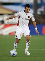 30 May 2009: Javier Morales of the Real Salt Lake in action during the game against the Earthquakes at Buck Shaw Stadium in Santa Clara, California.   Earthquakes defeated Real Salt Lake, 2-1.