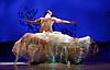 Snow White <br /> Ballet Lorent at Sadlers Wells, London, Great Britain <br /> 25th March 2016 <br /> Rehearsal <br /> <br /> artistic director Viv Lorent MBE <br /> <br /> <br /> Natalie Trewinnard as Snow White <br /> Gavin Coward as Huntsman <br /> <br /> <br /> <br /> <br /> <br /> Photograph by Elliott Franks <br /> Image licensed to Elliott Franks Photography Services