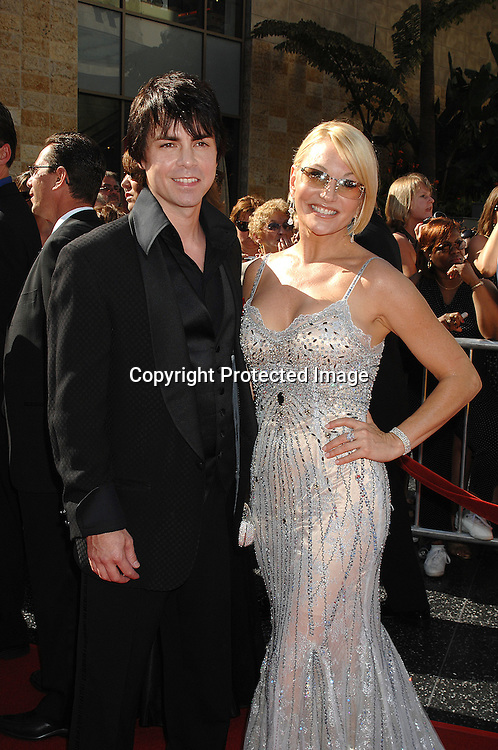 Mick         and Schae Harrison..arriving at The 34th Annual Daytime Emmy Awards on ..June 15, 2007 at The Kodak Theatre in Hollywood, California. ..Robin Platzer, Twin Images......212-935-0770