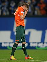 FUSSBALL   1. BUNDESLIGA   SAISON 2011/2012    17. SPIELTAG FC Schalke 04 - SV Werder Bremen                            17.12.2011 Markus ROSENBERG (SV Werder Bremen)