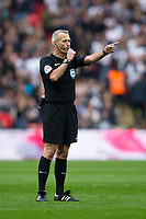 Referee Martin Atkinson     <br /> <br /> <br /> Photographer Craig Mercer/CameraSport<br /> <br /> Emirates FA Cup Semi-Final - Chelsea v Tottenham Hotspur - Saturday 22nd April 2017 - Wembley Stadium - London<br />  <br /> World Copyright &copy; 2017 CameraSport. All rights reserved. 43 Linden Ave. Countesthorpe. Leicester. England. LE8 5PG - Tel: +44 (0) 116 277 4147 - admin@camerasport.com - www.camerasport.com