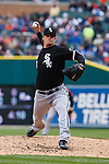 April 13, 2009:   #34 Gavin Floyd of the Chicago White Sox in action during the MLB game between Texas Rangers and Detroit Tigers at Comerica Park, Detroit, Michigan. (Credit Image: © Rick Osentoski/Cal Sport Media)