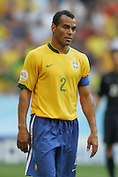 Cafu of Brazil. Brazil defeated Australia, 2-0, in their FIFA World Cup Group F match at the FIFA World Cup Stadium, Munich, Germany, June 18, 2006.