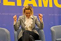 Roma, 29 Marzo 2015<br /> Convention di Forza Italia: Roma l'Italia e l'Europa che vogliamo. Deborah Bergamini, responsabile comunicazione di Forza Italia.<br /> Rome, March 29, 2015<br /> Convention  of Forza Italy: Rome the Italy and Europe that we want. Deborah Bergamini, communications manager of Forza Italy