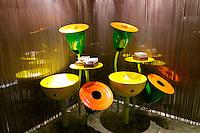 Vienna, Austria. The &quot;Steirereck&quot; with award winning Chef Heinz Reitbauer Junior is probably Vienna's best restaurant.<br /> The washrooms.