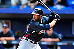 2 March 2010: Atlanta Braves' outfielder Jason Heyward in action against the New York Mets on the Opening Day of Grapefruit League Spring Training play at Tradition Field in Port St. Lucie, Florida. Mandatory Credit: Ed Wolfstein Photo