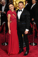 HOLLYWOOD, LOS ANGELES, CA, USA - MARCH 02: Olga Kurylenko, Kellan Lutz at the 86th Annual Academy Awards held at Dolby Theatre on March 2, 2014 in Hollywood, Los Angeles, California, United States. (Photo by Xavier Collin/Celebrity Monitor)