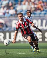 AC Milan forward Antonio Cassano (99) .  AC Milan defeated Olimpia 3-1 at Gillette Stadium on August 4, 2012