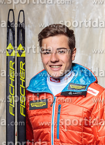 08.10.2016, Olympia Eisstadion, Innsbruck, AUT, OeSV Einkleidung Winterkollektion, Portraits 2016, im Bild Magnus Oberhauser, Biathlon, Herren // during the Outfitting of the Ski Austria Winter Collection and official Portrait Photoshooting at the Olympia Eisstadion in Innsbruck, Austria on 2016/10/08. EXPA Pictures © 2016, PhotoCredit: EXPA/ JFK