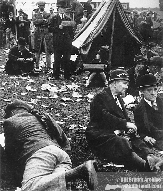 Derby Day at Epsom  1933