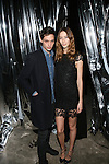 Nick Rae and Model Alana Zimme Attend alice+olivia by Stace Bendet & David Choe Present a Night of Fashion and Art at 450 West 14th Street, NY