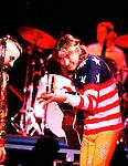 Joe Walsh 1989 with Ringo Starr.© Chris Walter.