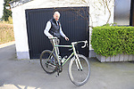 Diel Vaneenooghe with his Interceptor TS38 Jaegher Bike at the factory in Ruiselede, Flanders, Belgium. 23rd March 2017.<br /> Picture: Eoin Clarke   Cyclefile<br /> <br /> <br /> All photos usage must carry mandatory copyright credit (&copy; Cyclefile   Eoin Clarke)