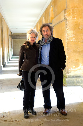 Howard Jacobson and jenny de Yong The GRAHAM HARRISON archive