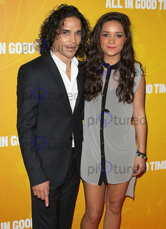 LONDON - MAY 08: Reece Ritchie &amp; Ria Ritchie attends the UK premiere of All In Good Time at BFI Southbank, London, UK, May 08 2012. (Photo by Brett D. Cove)
