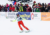 IRASCHKO-STOLZ Daniela of Austria competes during 11th Women FIS Ski Jumping World Cup competition in Planica replacing Ljubno  on January 25, 2014 at HS95, Planica, Slovenia. Photo by Vid Ponikvar / Sportida