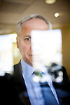 Mark Baldassare of the Public Policy Institute of California poses for a portrait in his San Francisco, Calif. office June 1, 2010..CREDIT: Max Whittaker for The Wall Street Journal.Pollster