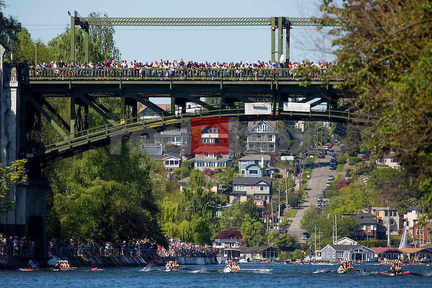 The University of Washington hosts the 2013 Windermere Cup on Lake Washington and the Montlake Cut on Saturday May 4, 2013. (Photo by Scott Eklund /Red Box Pictures)