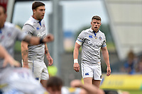 Rhys Priestland of Bath Rugby. Aviva Premiership match, between Sale Sharks and Bath Rugby on May 6, 2017 at the AJ Bell Stadium in Manchester, England. Photo by: Patrick Khachfe / Onside Images
