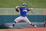 02 June 2016: Lander's Colton Rogers. The Millersville University Marauders played the Lander University Bearcats in Game 12 of the 2016 NCAA Division II College World Series  at Coleman Field at the USA Baseball National Training Complex in Cary, North Carolina. Millersville won the semifinal game 4-2 and advanced to the championship series.