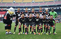 D.C. United Team Photo. D.C. United tied The Houston Dynamo 1-1 but lost in the overall score 4-2 in the second leg of the Eastern Conference Championship at RFK Stadium, Sunday November 18, 2012.