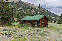 Ghost town of Kirwin in the Shoshone National Forest Wyoming