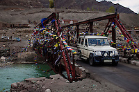 Pre-season Jeep road trip from Delhi to Amritsar, Srinagar, Kargil, Lamayuru, Leh, Khardung La, Tso Moriri and back to Delhi in May 2010. Photo by Suzanne Lee.
