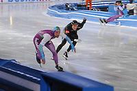 SCHAATSEN: AMSTERDAM: Olympisch Stadion, 28-02-2014, KPN NK Sprint/Allround, Coolste Baan van Nederland, Michel Mulder, Ronald Mulder, ©foto Martin de Jong