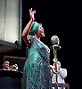 Ma Rainey's Black Bottom<br /> by August Wilson <br /> at the Lyttelton Theatre, National Theatre, London, Great Britain <br /> press photocall <br /> 1st February 2016 <br /> directed by Dominic Cooke <br /> <br /> Sharon D Clarke as Ma Rainey <br /> <br /> <br /> <br /> Photograph by Elliott Franks <br /> Image licensed to Elliott Franks Photography Services
