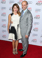 HOLLYWOOD, LOS ANGELES, CA, USA - NOVEMBER 12: Sasha Alexander, Edoardo Ponti arrive at the AFI FEST 2014 - Special Tribute To Sophia Loren held at the Dolby Theatre on November 12, 2014 in Hollywood, Los Angeles, California, United States. (Photo by Xavier Collin/Celebrity Monitor)
