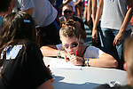 Sarah Anne Craft, a freshman, registered for FUSION on Monday, August 22, 2011 in Lexington, Kentucky.  It was the most participated in FUSION yet with 1,384 volunteers. Photo by Latara Appleby | Staff