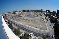 1997 APRIL 03..Redevelopment..Macarthur Center.Downtown North (R-8)..LOOKING EAST.SUPERWIDE...NEG#.NRHA#..