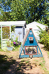 Backyard mobile chicken coop