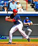 3 March 2009: Washington Nationals' third baseman Ryan Zimmerman in action against Italy during a Spring Training exhibition game at Space Coast Stadium in Viera, Florida. The Nationals defeated Italy 9-6. Mandatory Photo Credit: Ed Wolfstein Photo