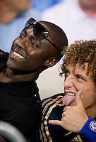 David Luiz, fan.  The MLS All-Stars defeated Chelsea, 3-2.
