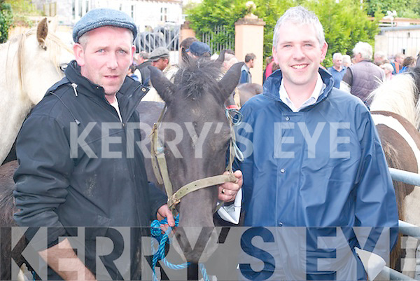 Having a great time at Kenmare Fair on Wednesday
