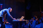 Reykjavik, Iceland sound artist Ben Frost plays King's  during the Hopscotch Music Festival, Raleigh, N.C., Friday, Sept. 10, 2010.