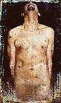 A nude male figure